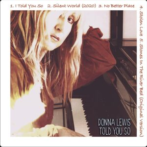Donna Lewis Told You So